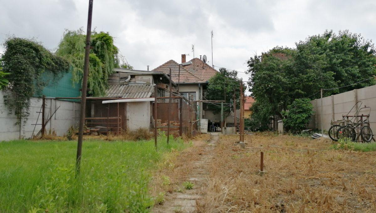 Senec-09-FK-3-izbovy-rodinny-dom-v-povodnom-stave-pohlad-na-pozemok-a-dom-z-konca-zahrady-zlta-a-zelena-trava