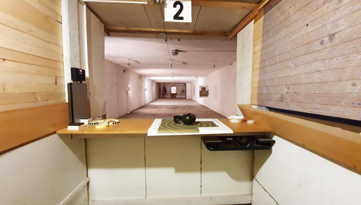 Turany 10 hotel penzion ubytovna s certifikovanou strelnicou pohlad na sportovu strelnicu