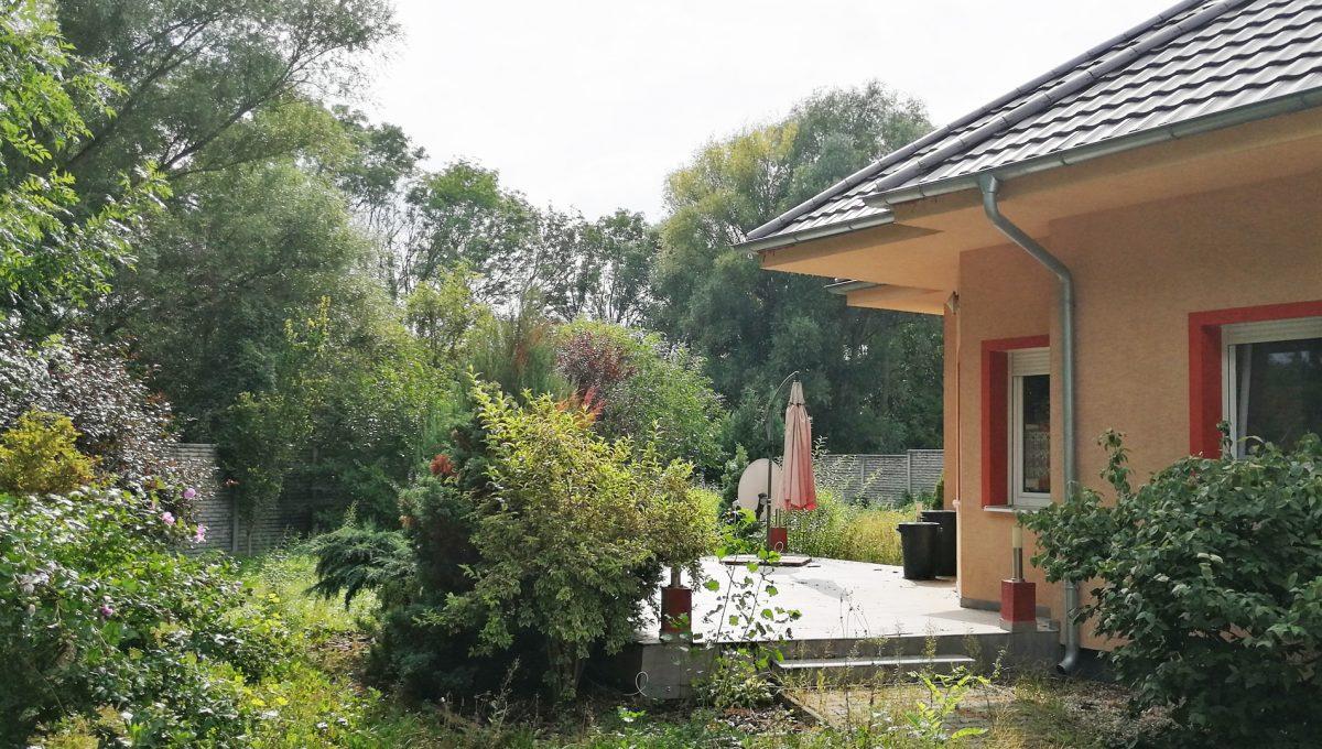 Turen 20 na predaj 6 izbovy rodinny dom pohlad na volny priestor na pozemku popri dome